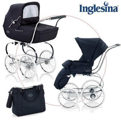 Wózek Inglesina Classica z torbą na pieluchy