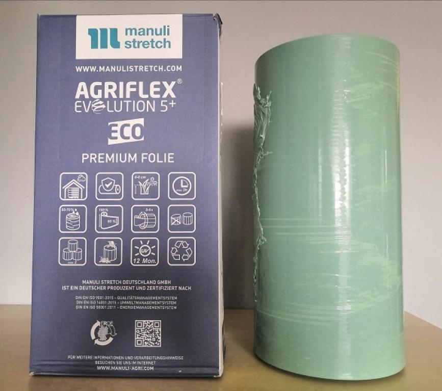 Folia do sianokiszonki AGRIFLEX zielona 500