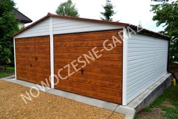 Garaż blaszany drewnopodobny cała polska