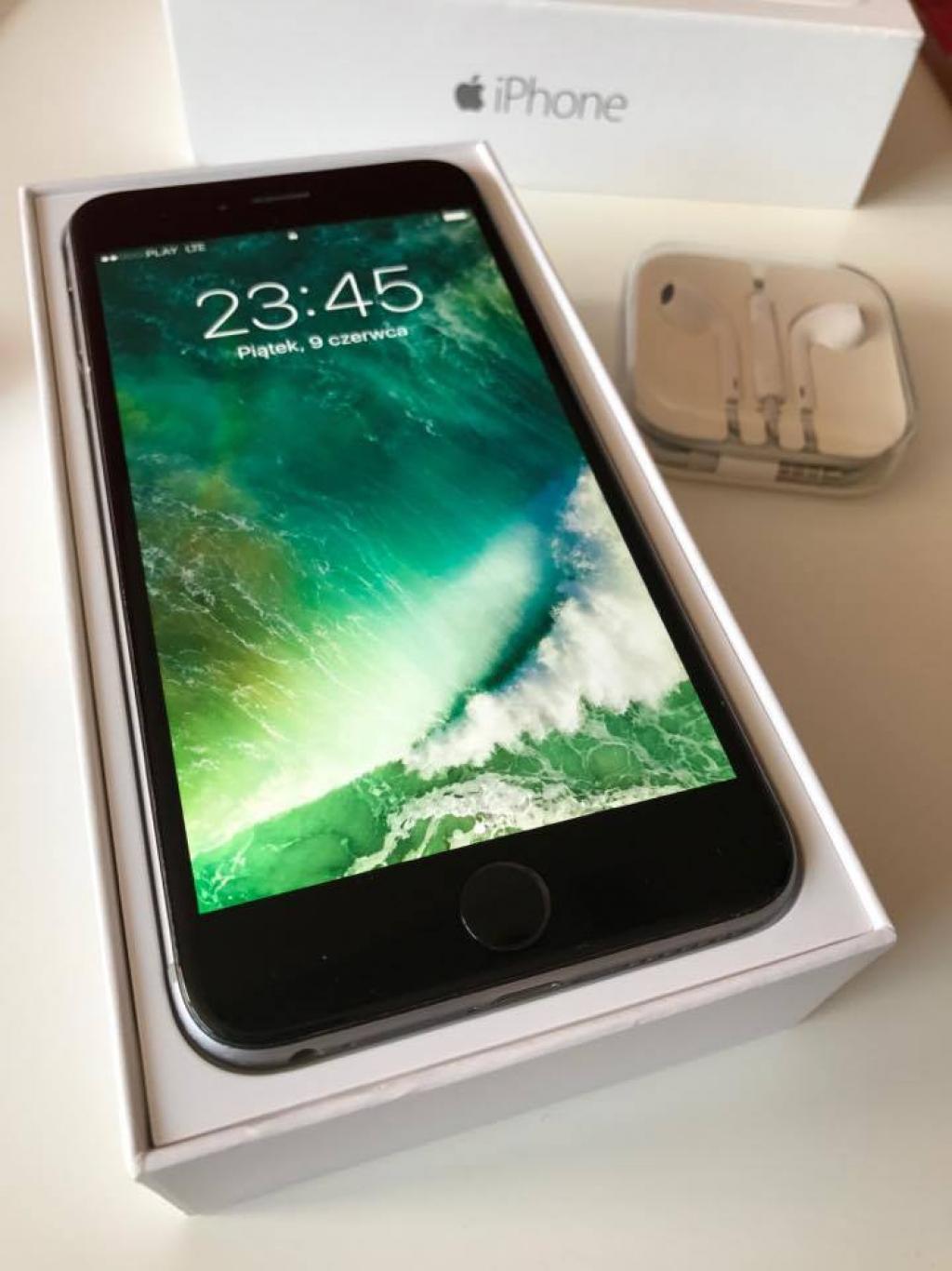 IPHONE 6 PLUS 64 GB gwiezdna szarość gray space po