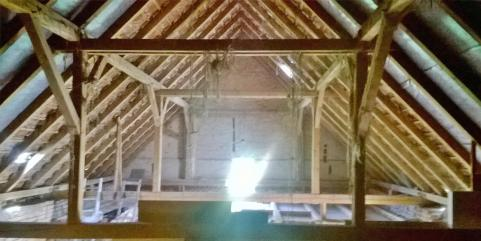 kompletny dach z dachówką
