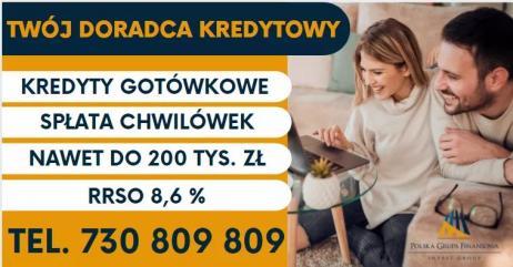 Kredyt Konsolidacyjny do 200 tys
