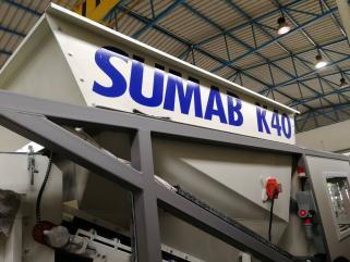 Mobile concrete plant Sumab K-40
