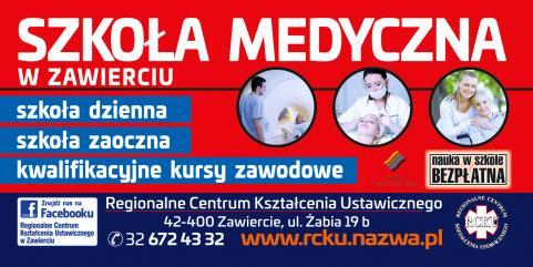 Nabór do szkoły medycznej - Zawiercie