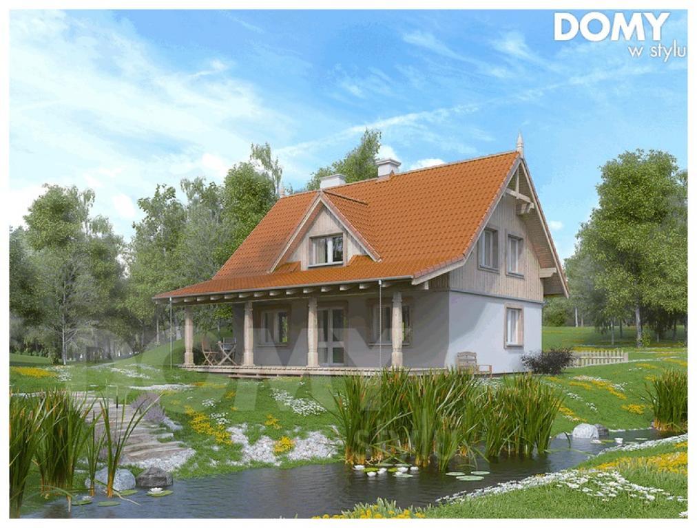 Najlepsze projekty domów letniskowych - Domywstylu