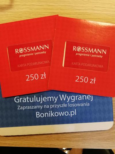 Oddam Kartę Podarunkową Rossmann