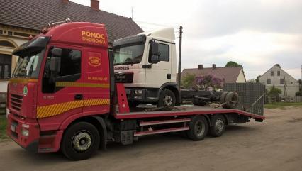 Pomoc drogowa Poznań, FAST-TRANS, Holowanie