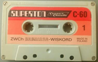 PRZYJMĘ stare niepotrzebne kasety magnetofonowe