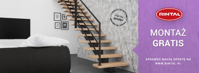 RINTAL Schody - Montaż schodów GRATIS