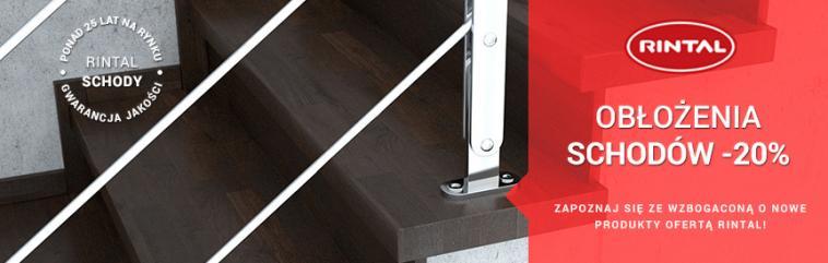 RINTAL - w marcu obicia schodów betonowych - 20%
