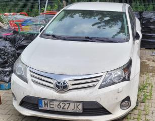 Syndyk Vidi Pahrm sprzeda samochód osobowy