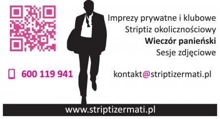 Tancerz na Panieński, Striptiz Męski, Striptizer,
