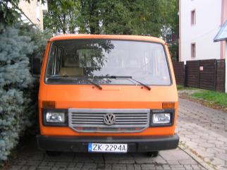 VW LT 35 2,4 td 1995 na bliżniakach 6 osób + paka