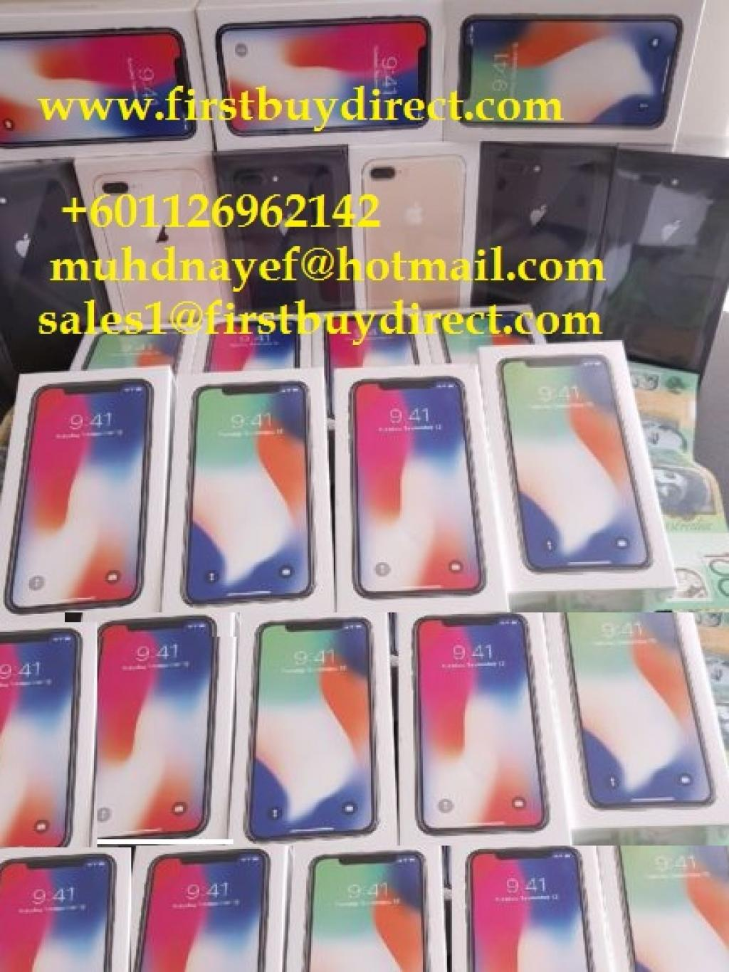 WWW.FIRSTBUYDIRECT.COM Apple iPhone X 8 Plus/8 S9