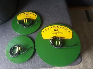 Wykrywacz metali Salamandra S5 nowy